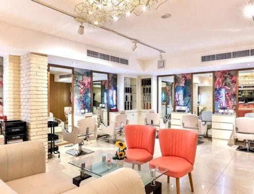 Mirrors Beauty Lounge salon dubai