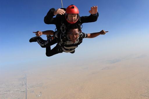 Skydive Dubai Desert Dropzone