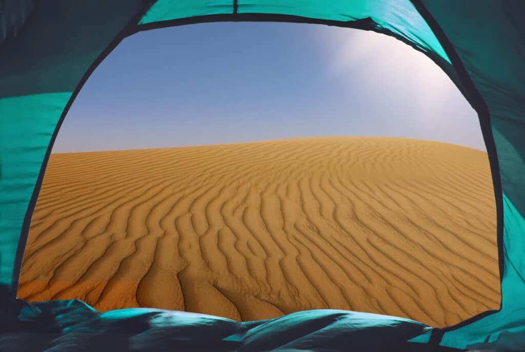 outdoor activities in dubai camping