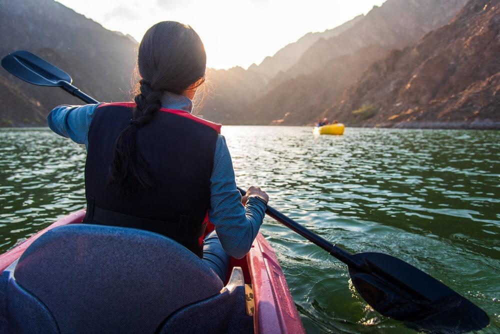 outdoor activities in dubai Kayaking